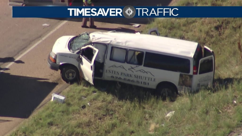 Fatal rollover crash involving Estes Park 15-Passenger Shuttle Van