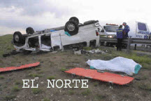 Ford E350 rollover in Mexico